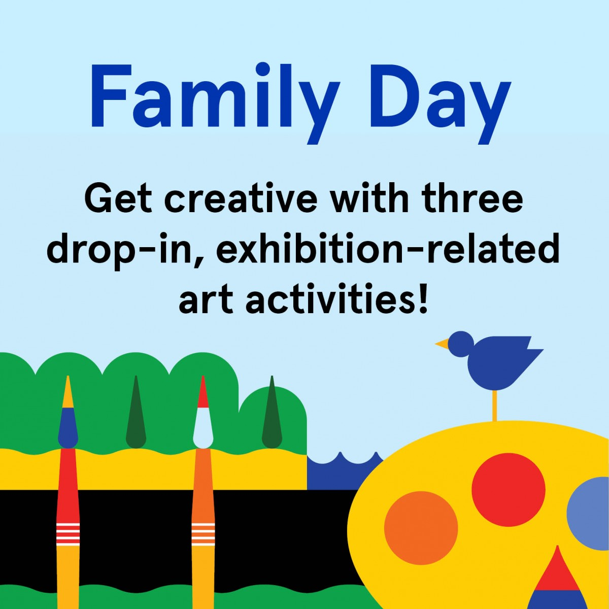 Family Day at Place des Arts
