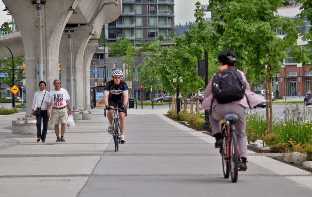 Biking in City Centre